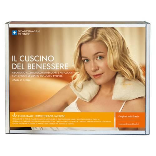 Scandinavian Blonde Cuscino Del Benessere.Benessere Naturhal Cuscino Cervicale Parafarmacia San Biagio